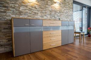 Wohnzimmerschrank Holz