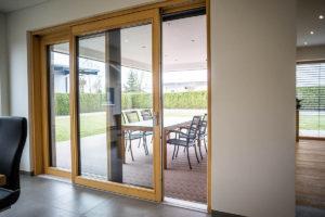 Balkontür Holz